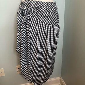 Soprano Buffalo Check Skirt Size Large